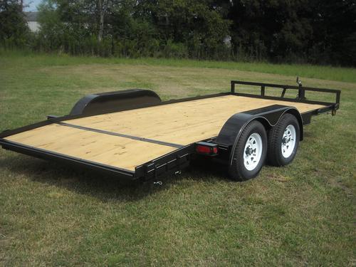 16 x 83 Standard Car Hauler, dovetail
