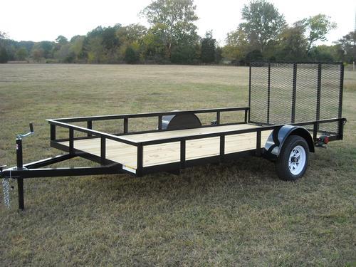 Single Axle Utility Trailer Economy